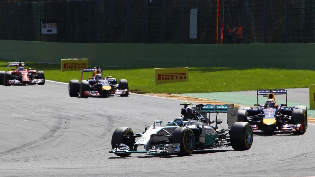Nico Rosberg (GER), 24.08.2014, Belgian Grand Prix, Spa Francorchamps, Belgium / XPB
