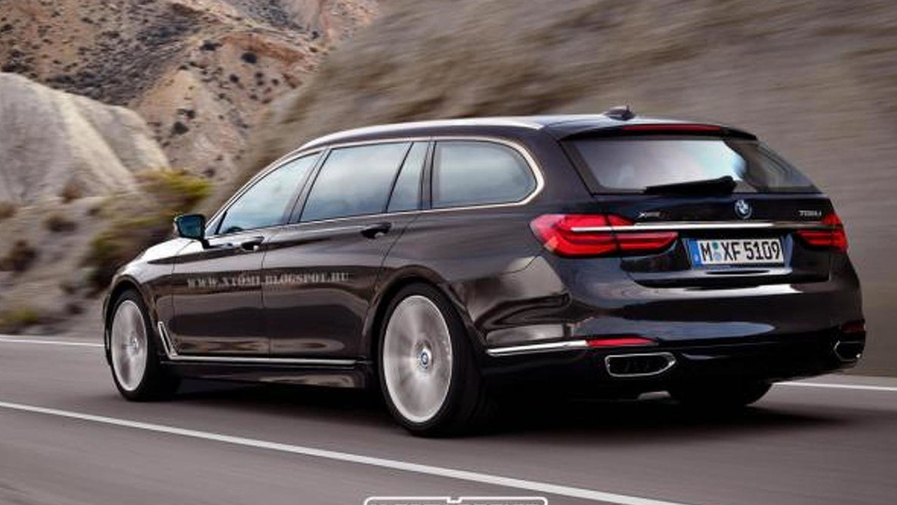 2016 BMW 7-Series Touring render