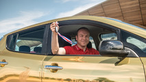 Nissan gold Leaf
