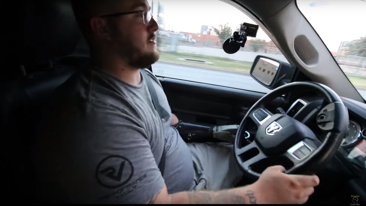 Driving with hand controls