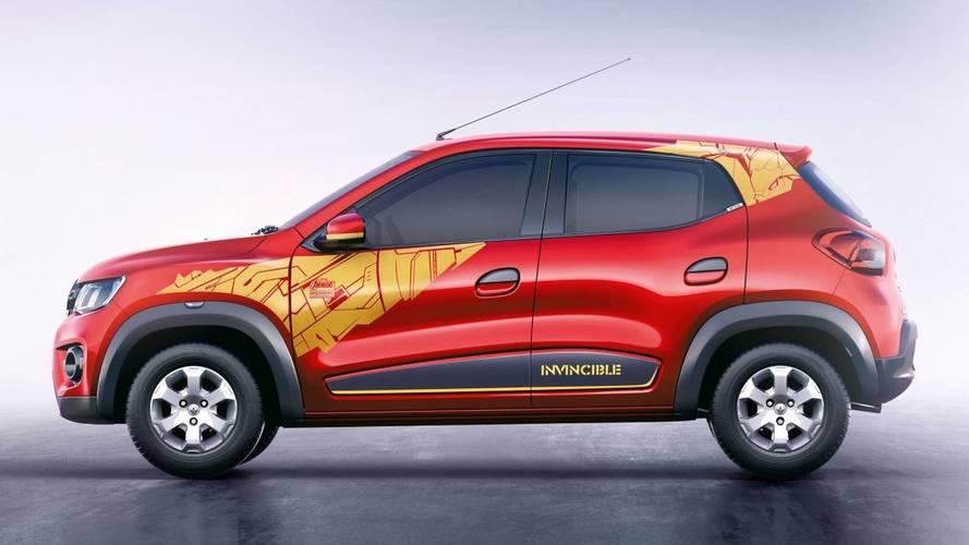 Renault Kwid: una edición de superheroes, solo para el mercado indio