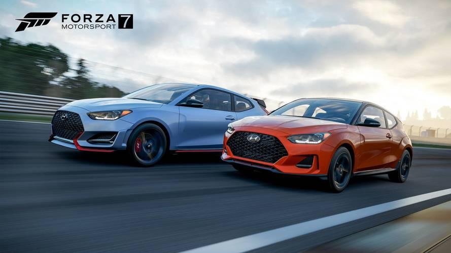 2019 Hyundai Veloster Turbo, Veloster N in Forza Motorsport 7