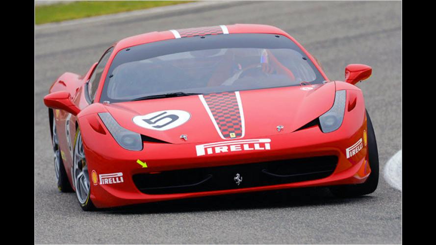 Ferrari 458 Challenge: Premiere auf der Bologna Motor Show