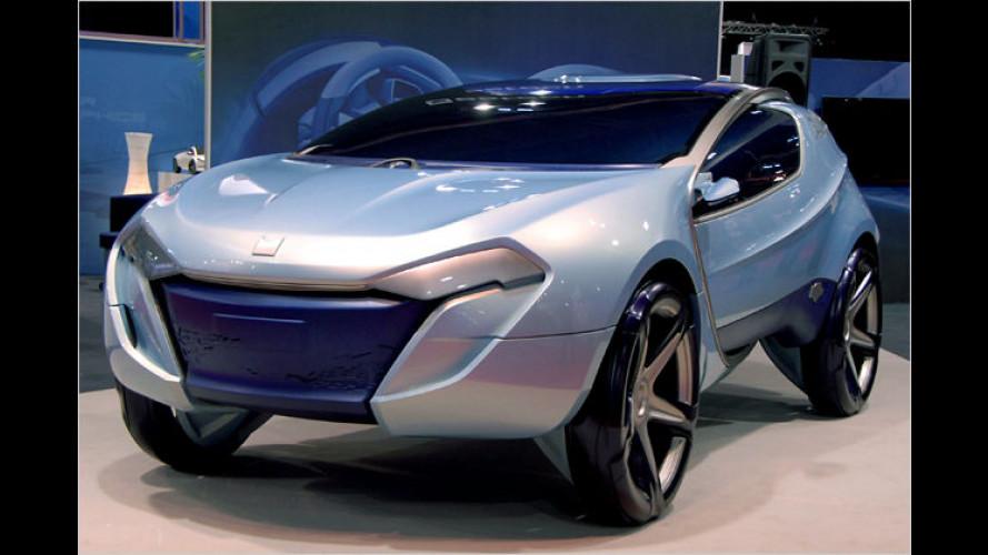 Estech Crysalys: Elegantes Elektroauto für übermorgen