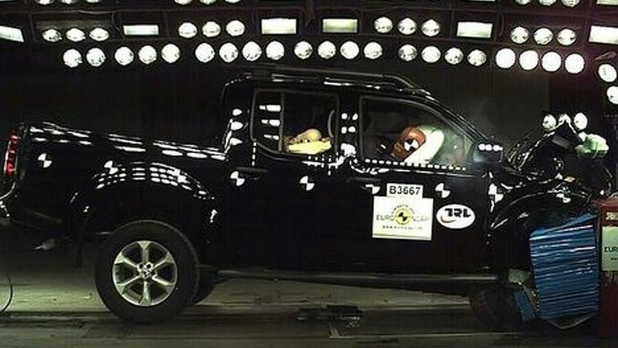 Nissan Navara retested by Euro NCAP