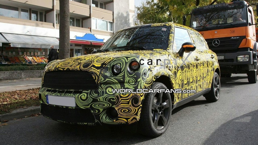 MINI Crossover Spied Wearing New Concept Body