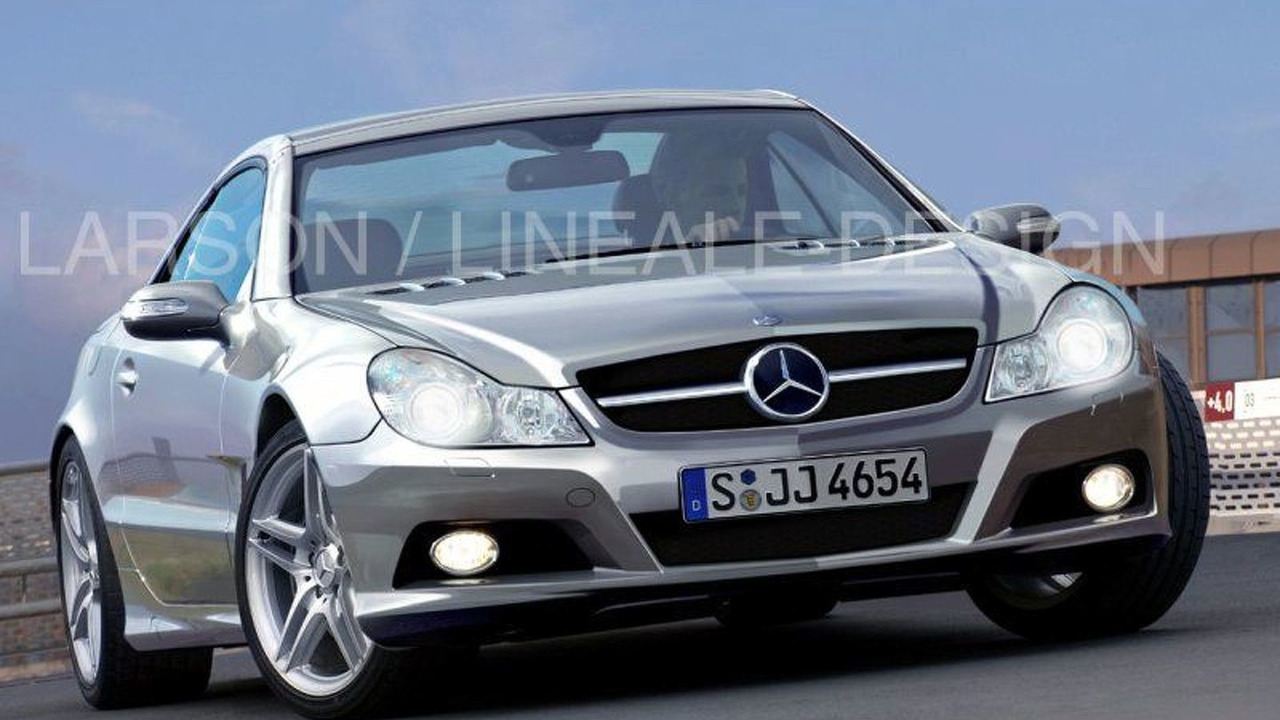 Mercedes SL Major Facelift artist rendering