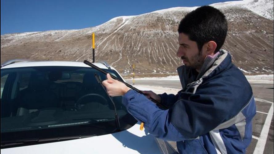 Il freddo è arrivato: come prepararsi con l'auto, le gomme invernali, le catene da neve