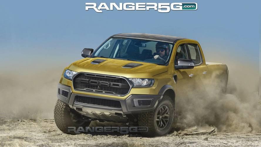 Ford Ranger Raptor 2019 é antecipada em novas projeções