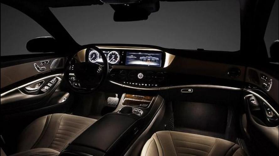 Nuova Mercedes Classe S, gli interni