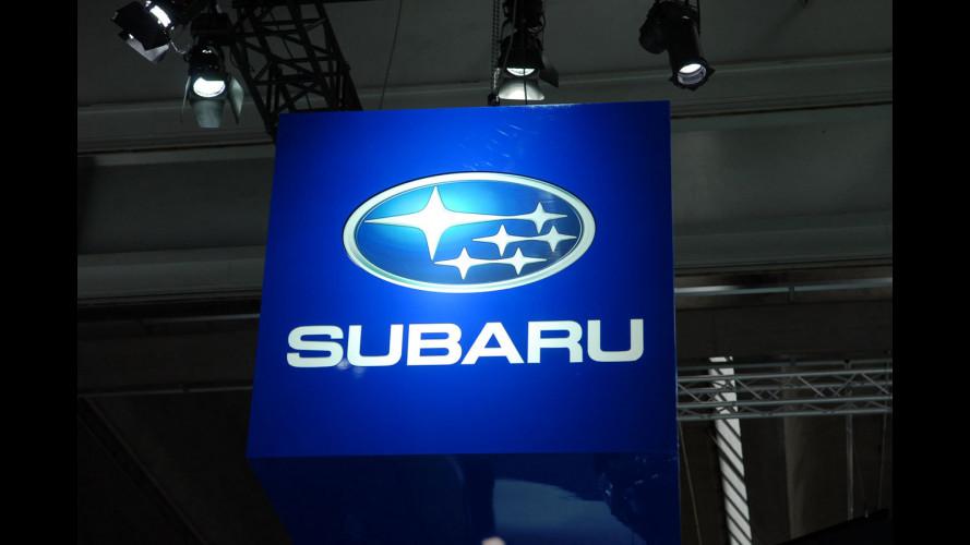Subaru al Salone di Francoforte 2011