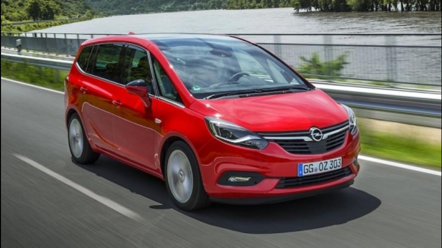 Opel Zafira, hi-tech per sette
