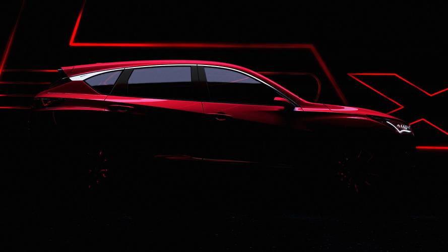 2019 Acura RDX Prototype Teaser Shows New Design Language
