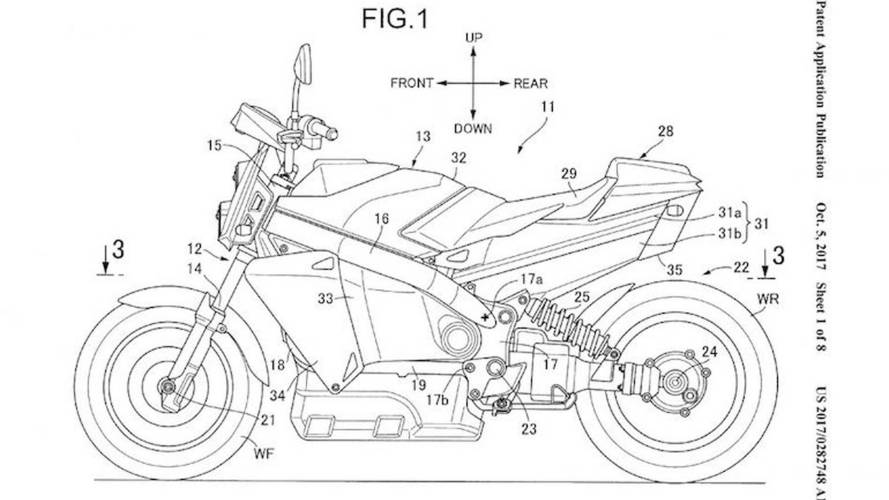 Honda Patents Fuel Cell Motorcycle