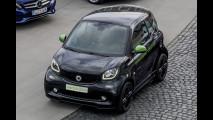Nuova smart fortwo electric drive, il prototipo