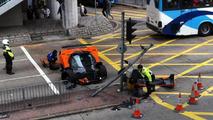 Pagani Zonda F crash in Hong Kong, 1024, 26.01.2012