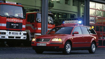Volkswagen Passat fire engine