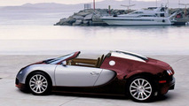Bugatti Veyron roadster - computer interpretation
