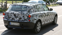 2011 BMW 1-Series up close spy photo