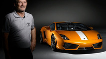 Valentino Balboni Interviewed While Driving His Namesake Gallardo LP550-2