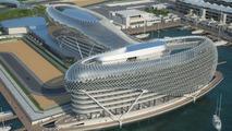 Yas Marina circuit, Abu Dhabi renderings - med res
