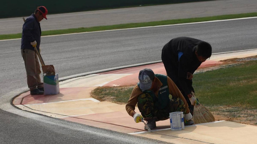 German workers helped Korea to get F1 track ready
