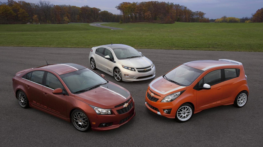 Chevy unveils Volt, Cruze, and Spark Z-Spec Concepts