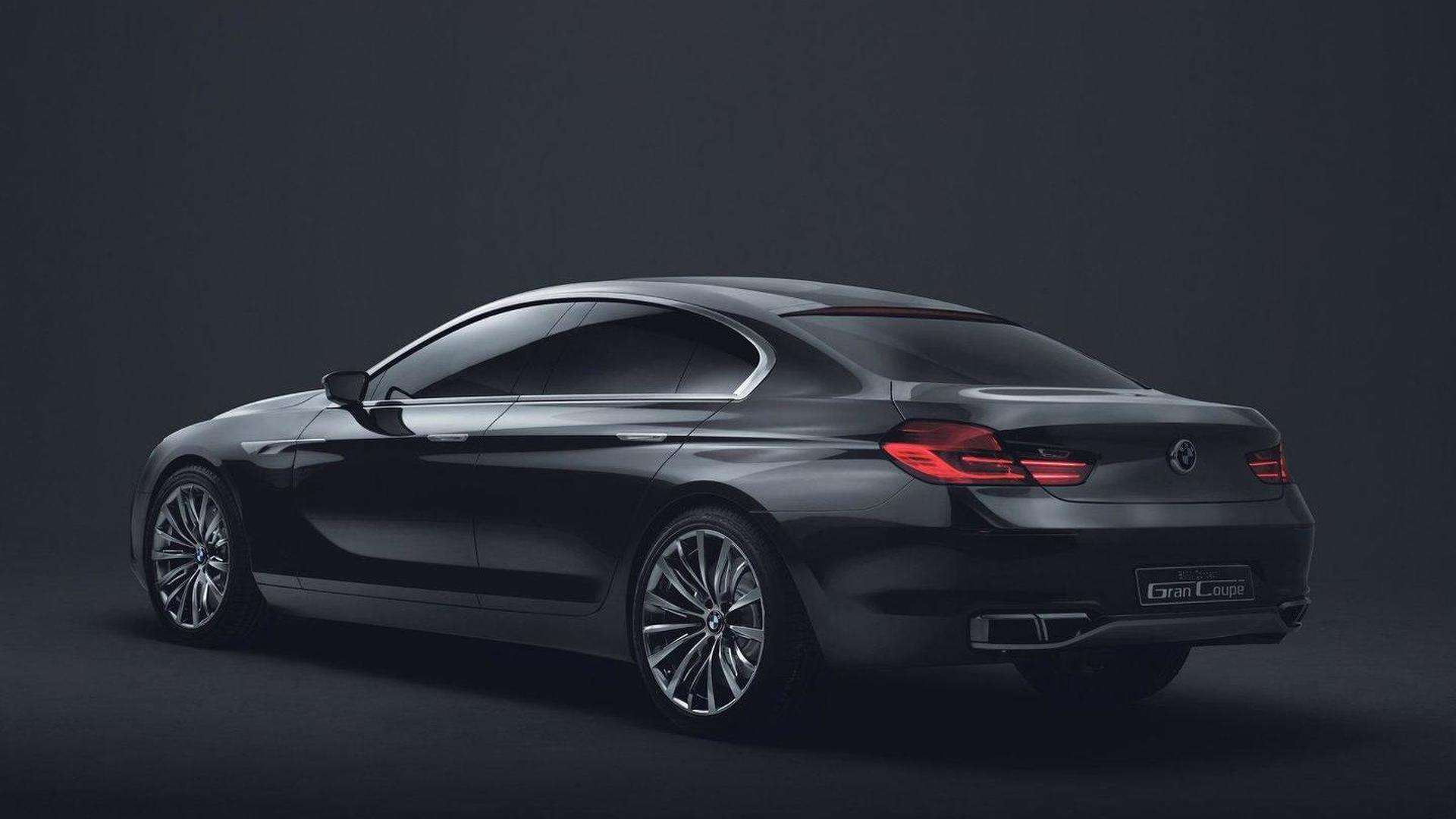 BMW Concept Gran Coupe revealed - previews 6-Series competitor for ...