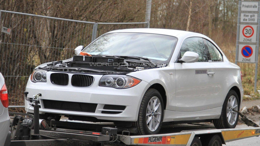 2011 BMW 1-Series Coupe Active-E spied with details
