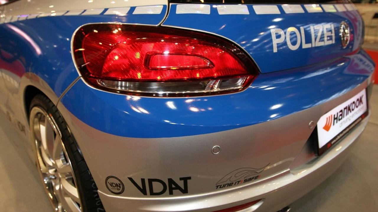 Tune It Safe 2009 VW Scirocco Polizei
