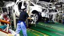 Toyota Prius production Japan
