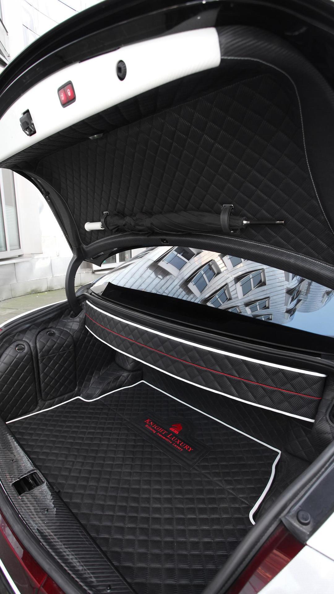 Тюнинг багажника Майбах от Night Luxury