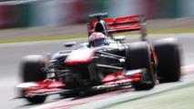 Jenson Button in the McLaren MP4-28 12.10.2013 Japanese Grand Prix
