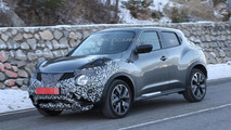 Nissan Juke facelift spy photo