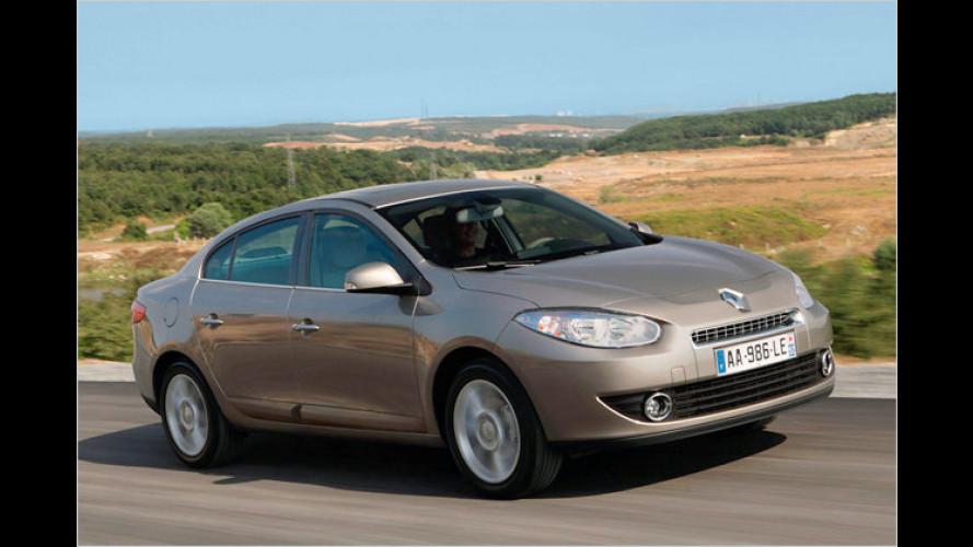 Neuer Renault Fluence mit üppiger Serienausstattung
