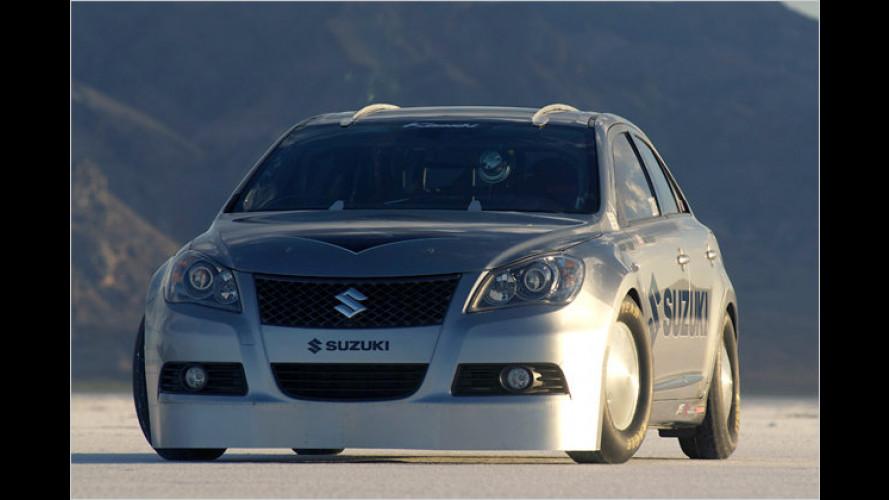 Suzuki Kizashi stellt Bonneville-Geschwindigkeitsrekord auf