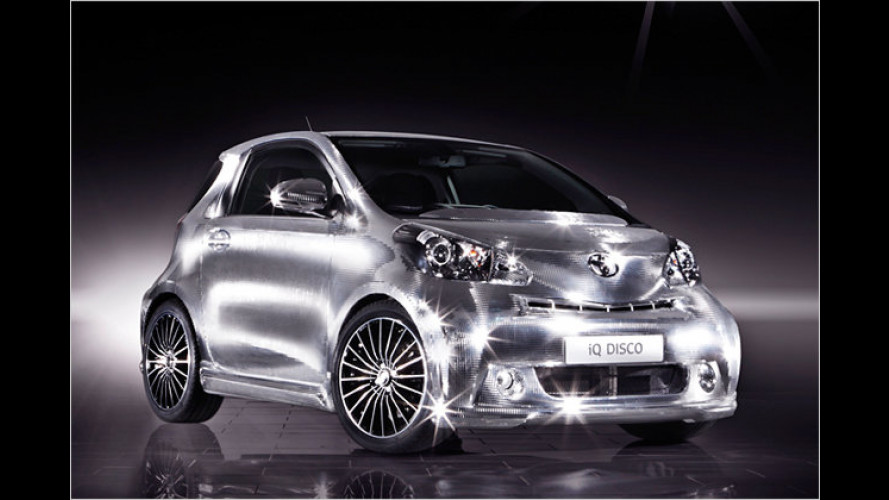 Toyota iQ Disco: Showcar mit Über-Schall