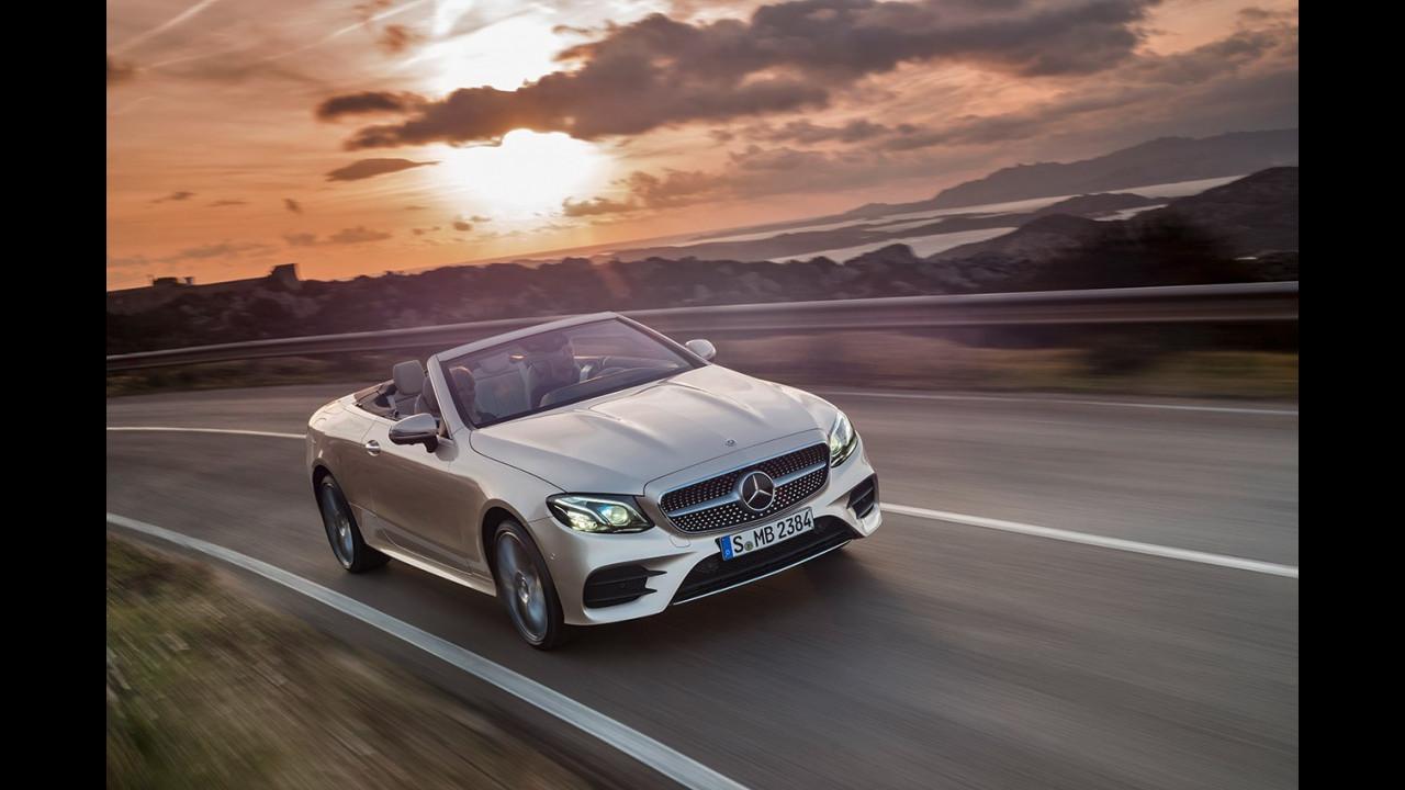 Nuova Mercedes Classe E Cabrio