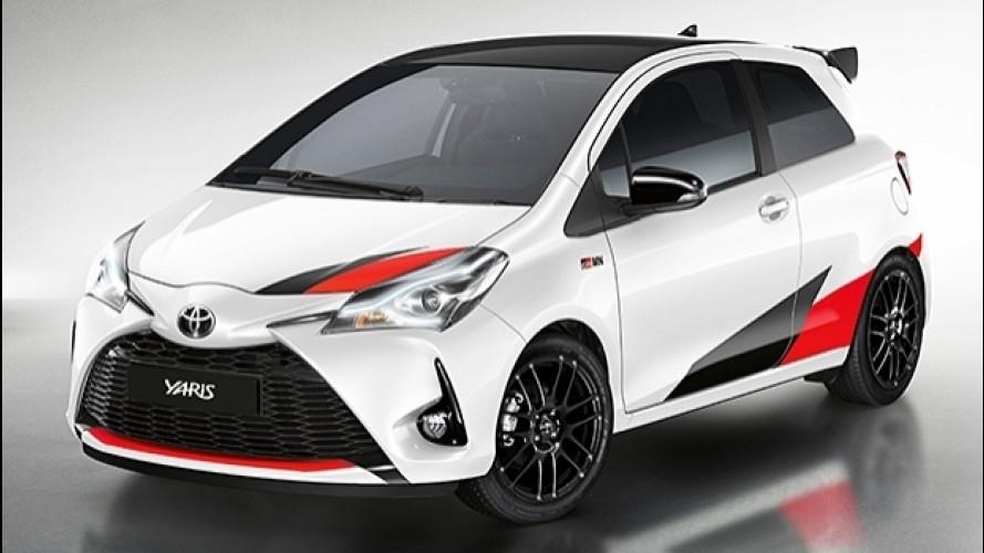Toyota Yaris GRMN, 210 CV e differenziale autobloccante
