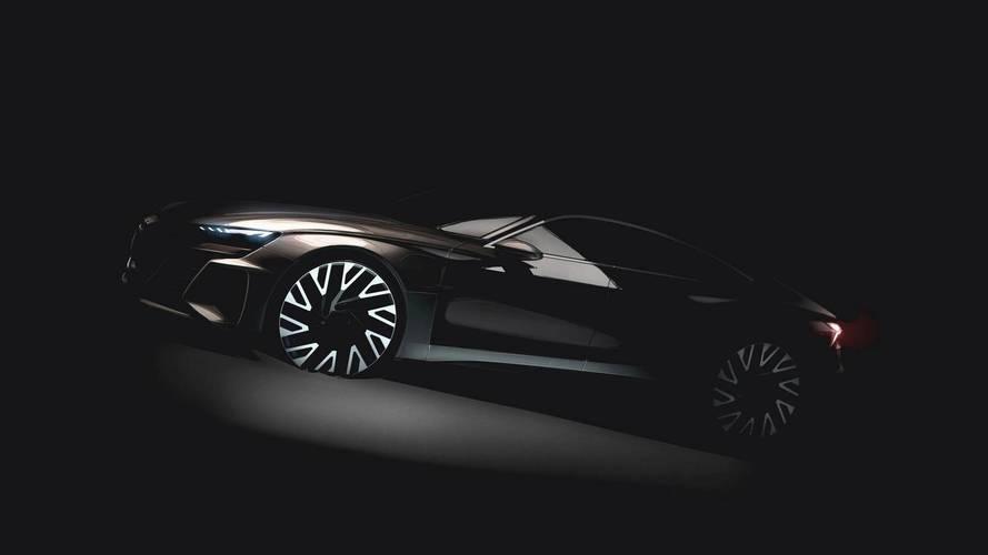 Audi E-Tron GT'nin yeni bir teaser görseli yayınlandı