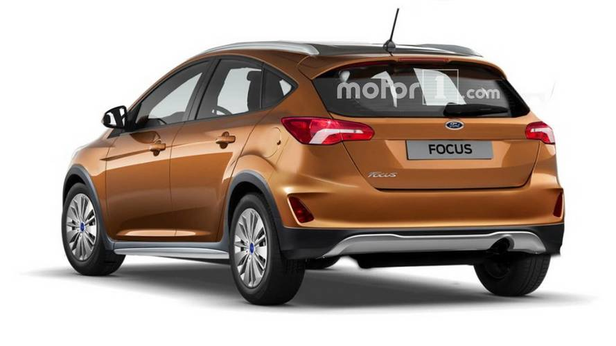 Ford Focus Active Rendered With Crossover Cues