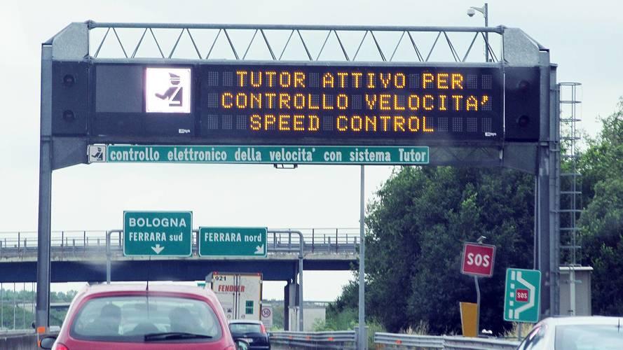 Tutor in autostrada, rimarranno attivi