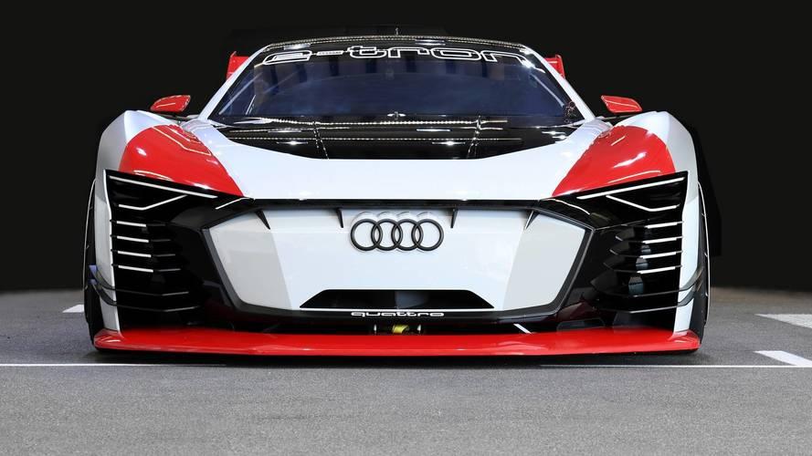 Audi E-Tron Vision Gran Turismo tanulmány