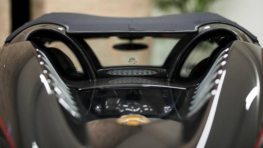 Pagani Huayra Roadster with Pagani Fabric roof