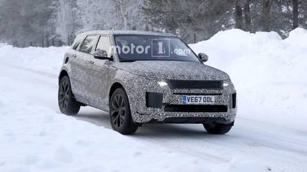 Range Rover Evoque Caught Hiding Velar Design Cues