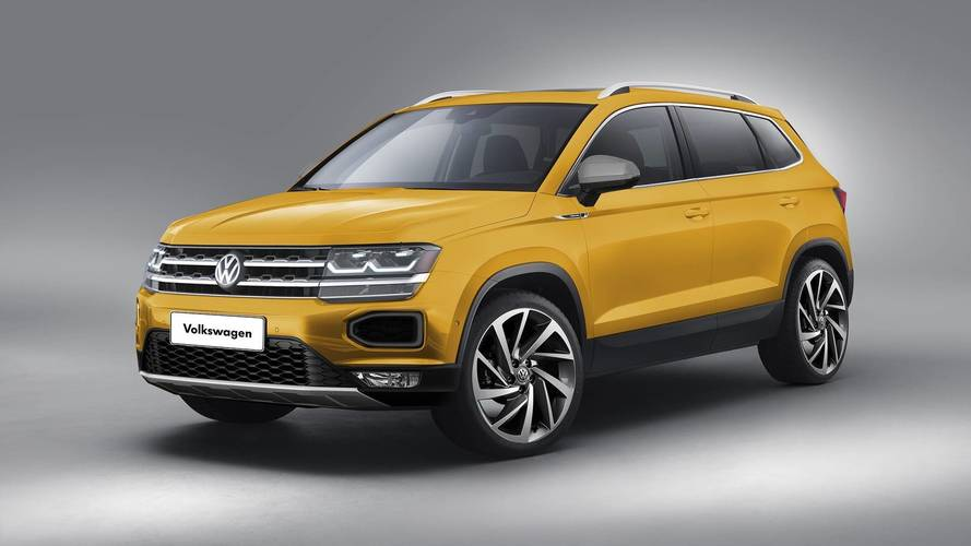 VW Global SUV Rendered Based On Official Preview