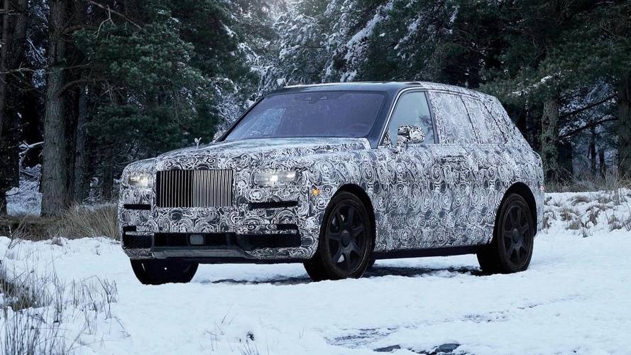 Rolls-Royce SUV to be called Cullinan