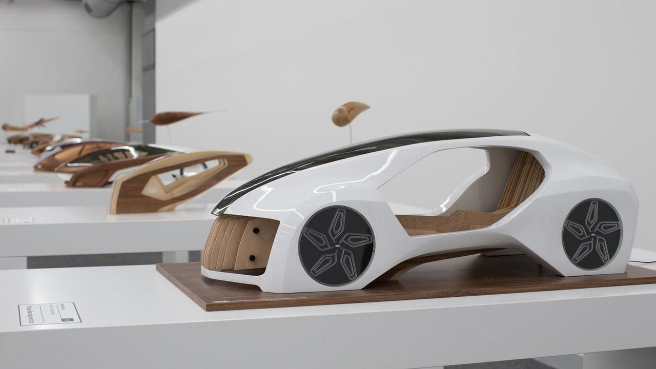 Audi Wood Aerodynamics project from the Academy of Fine Arts and Design in Bratislava 26.11.2012