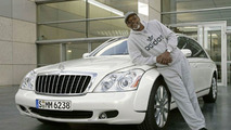 Samuel L. Jackson with New Maybach 57 S