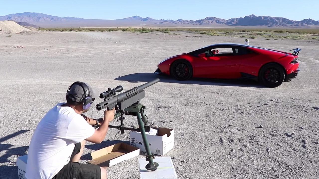 Lamborghini Huracan Cannon Shot